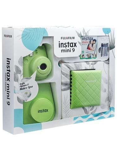 Instax Instax mini 9 Kit Yeşil Renkli
